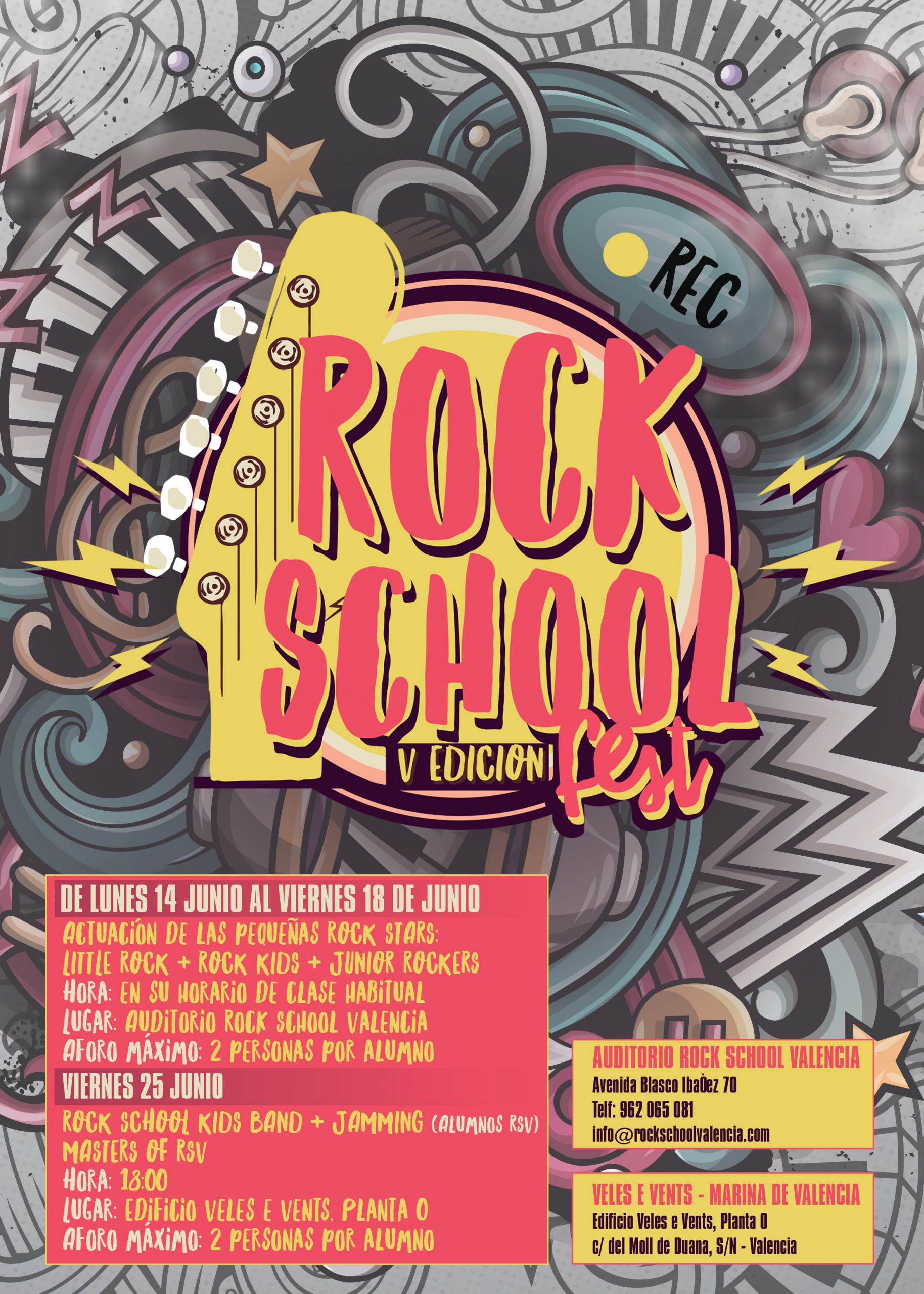 FESTIVAL FINAL DE CURSO 2020/2021 ( ROCK SCHOOL FEST V )